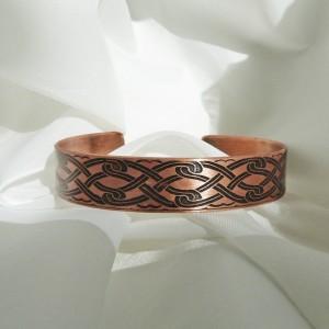Men's Copper Cuff Bracelet