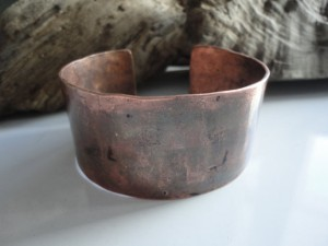 Men's Cuff Bracelet - Copper
