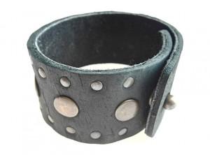 mens leather cuff