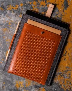 Handmade Vintage iPad Sleeve
