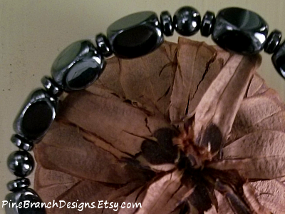 Mens Handmade Magnetic Bracelet