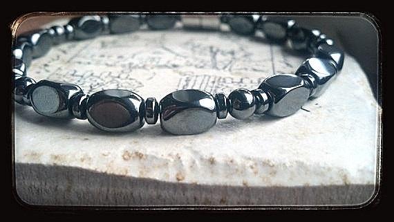 Men's Handmade Magnetic Therapy Bracelet