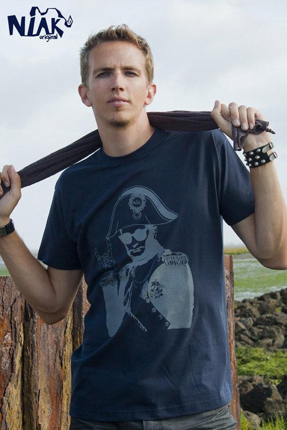 handmade mens screenprinted shirt