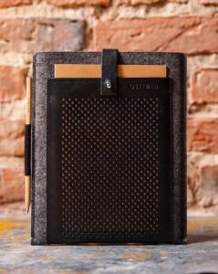 men's handmade iPad sleeve