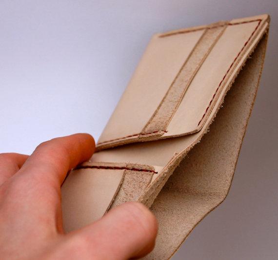 Custom Handmade Bifold Wallet