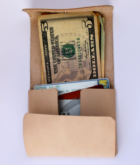 Handmade Front Pocket Wallet