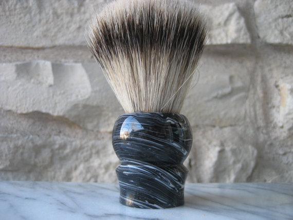 handmade badger shaving brush