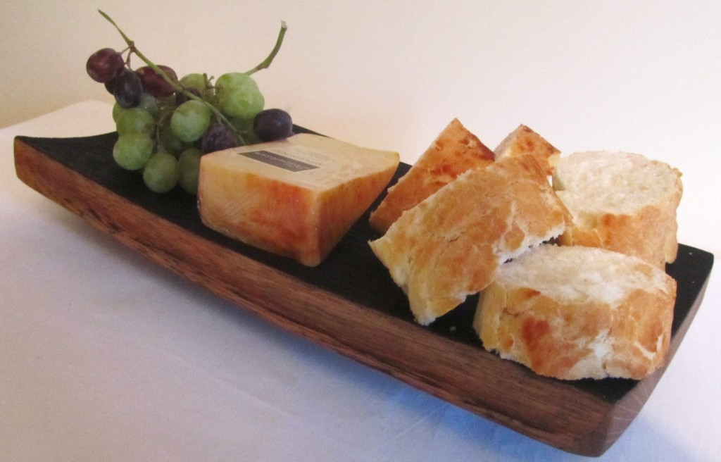 Cheese and Haggis Platter