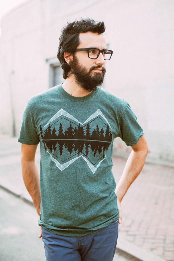 Crater Lake - tshirt men, mens graphic tee,