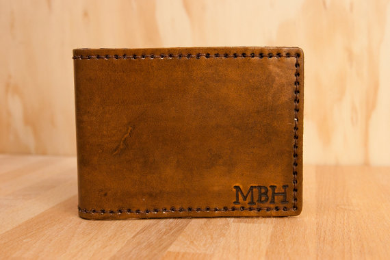 Wallet - Leather Wallet - Monogram Wallet